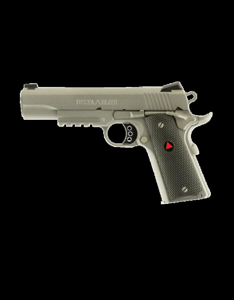 "Colt COLT DELTA ELITE RAIL 1911, #02020RG, 10MM, NOVAK SIGHTS, 5"", S/S"