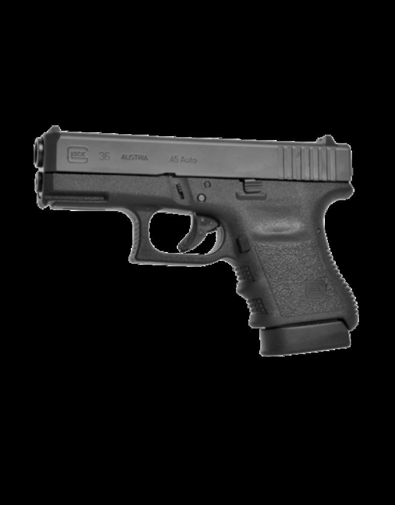 "Glock GLOCK 36, #PI3650202FGR, 45ACP, 3.75"", 2 MAGS, RAIL"
