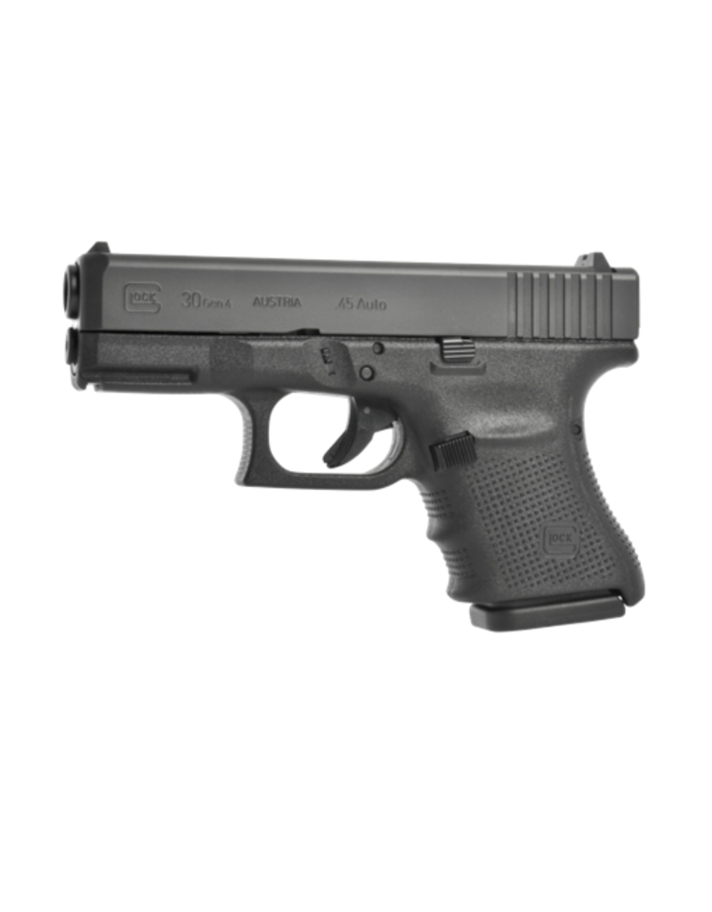 "Glock GLOCK 30 GEN 4, #PG30507, GLOCK NIGHT SIGHTS, 45ACP, 3.75"", 2 MAGS"