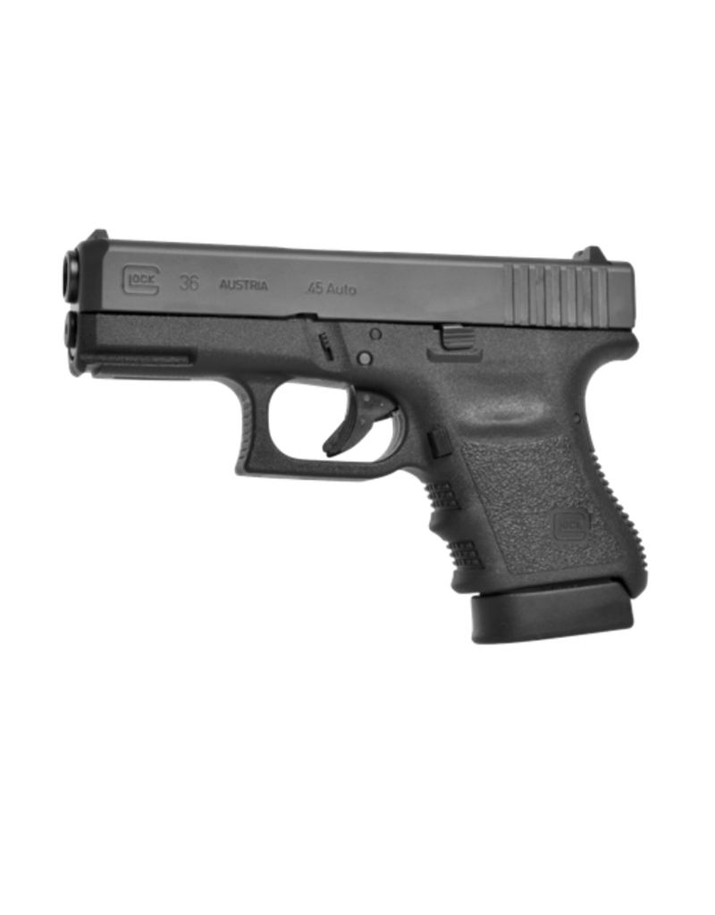 "Glock GLOCK 36, #PN36507, 45ACP, 3.75"", GLOCK NIGHT SIGHTS, 2 MAGS"