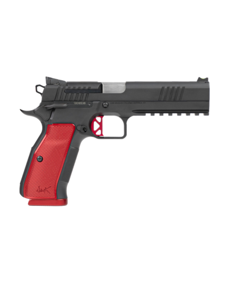 DAN WESSON DAN WESSON DWX, #92001, 9MM, RED ACCENTS, FIBER OPTIC SIGHT, 19RD MAGS