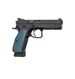 CZ CZ SHADOW 2 SINGLE ACTION, #91245, 9MM, 17RD, BLUE ACCENTS