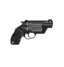 "Taurus TAURUS JUDGE, #2-441021PFS, PUBLIC DEFENDER, 45/410, 2"" BARREL, 2.5"" CYL., BLUE, POLYMER, FIXED SIGHTS"
