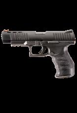 "Walther WALTHER PPQ W/ FIBER OPTIC F/S, #5100302LE, 22LR, 5"", BLACK, 3 MAGAZINES"
