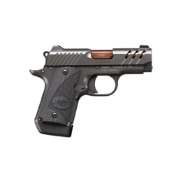 Kimber KIMBER MICRO 9 ESV GRAY, #3300204, 9MM, NIGHT SIGHTS, GRAY, ROSE COPPER TITANIUM BARREL