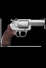 "Kimber KIMBER K6S DA/SA, #34016, 357 MAG, 3"", 6 SHOT, STAINLESS, WALNUT GRIPS, WHITE DOT SIGHT"