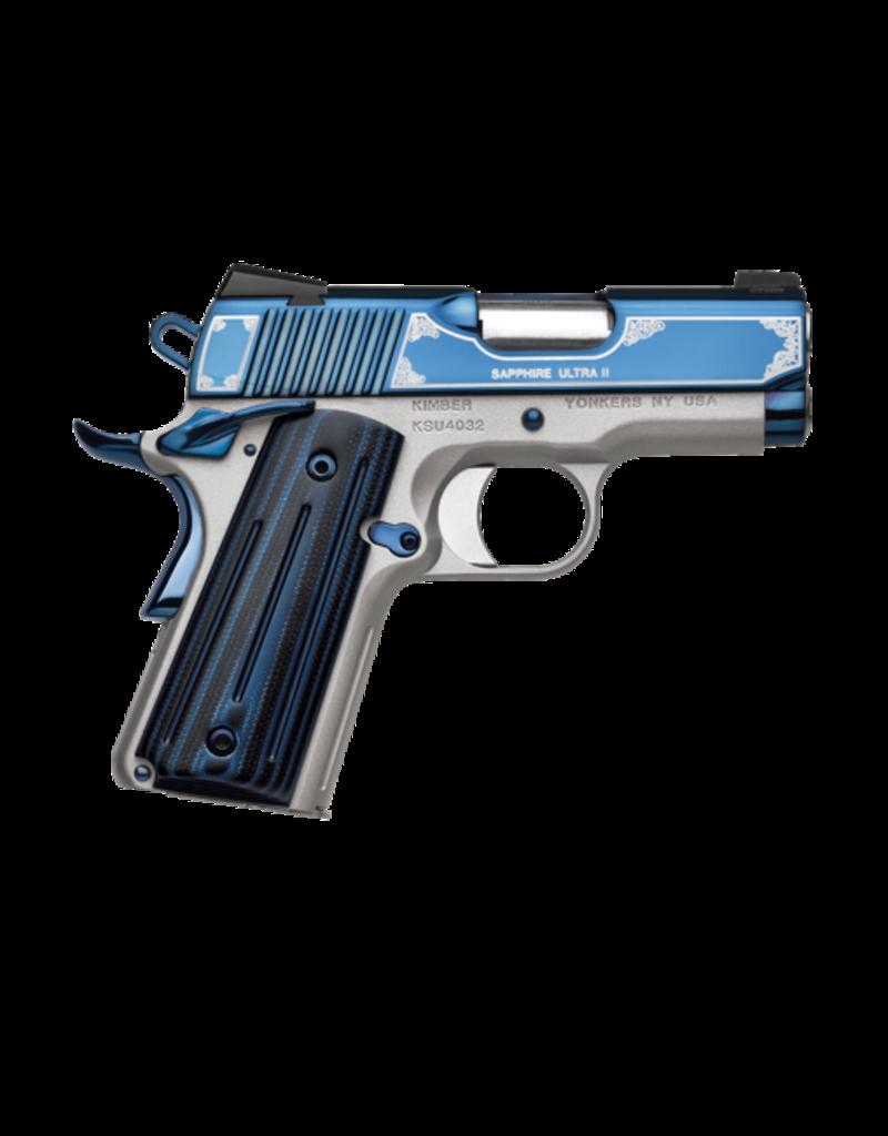 "Kimber KIMBER SAPPHIRE ULTRA II, #3200362, 45ACP, 3"", SAPPHIRE BLUE"