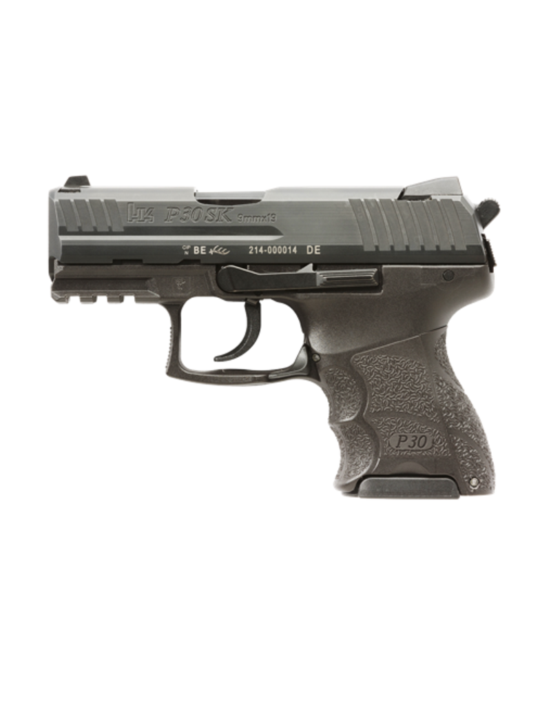 """H&K H&K P30SK, #730903K-A5, 9MM, 3.27"""", HEF, V3, 3 DOT SIGHTS, DECOCKER ONLY (NO SAFETY), 2 10RD MAGS"""