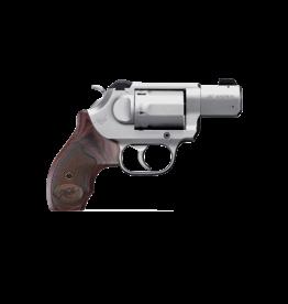 "Kimber KIMBER K6S DA/SA, #3400021, 357 MAG, 2"", 6 SHOT, STAINLESS, WALNUT GRIPS, WHITE DOT SIGHT"