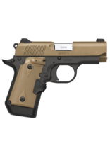 Kimber KIMBER MICRO 9 DESERT TAN, LASER GRIP,  #33168, 9MM, FLAT DARK EARTH