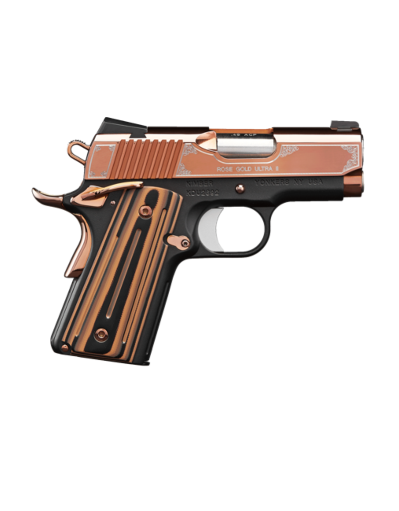 "Kimber KIMBER ROSE GOLD ULTRA II, #32372, 9MM, 3"" ROSE GOLD FINISH"