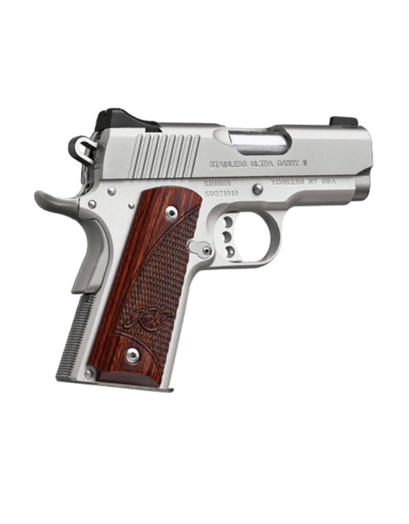 "Kimber KIMBER STAINLESS ULTRA CARRY II, #32329, 9MM, 3"", ST/ST"