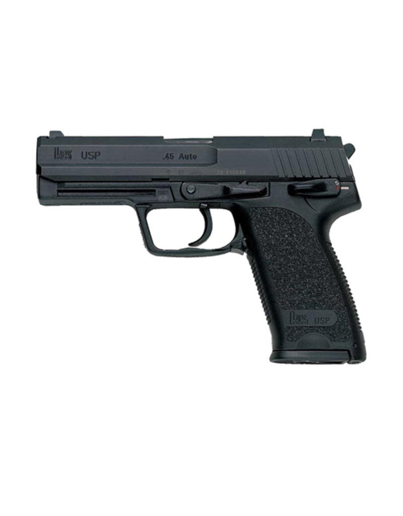 """H&K H&K USP-45, #M704501-A5, 45ACP, 4.4"""", V1, HEF, 3 DOT SIGHTS, 2 MAGS"""