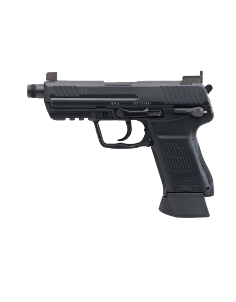 "H&K H&K HK45 COMPACT TACTICAL, #745031T-A5, 45ACP, 3.9"", HEF, 3 DOT SIGHTS, 2 MAGS"