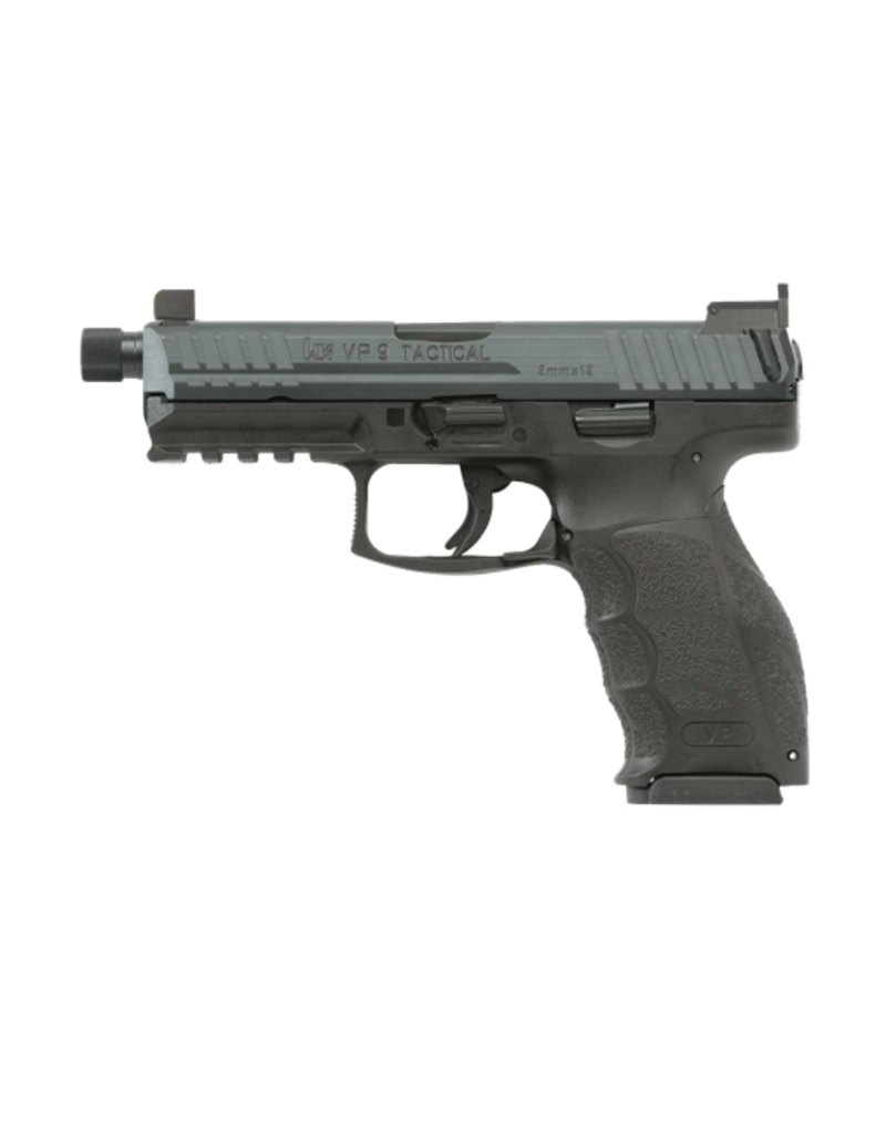 H&K H&K VP9 TACTICAL, #700009TLE-A5,  9MM, STRIKER FIRE, 3-15RD MAGS, NIGHT SIGHTS, THREADED BARREL