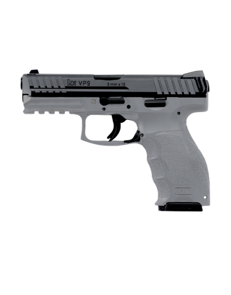 H&K H&K VP9, #M700009GY-A5, 9MM, GREY FRAME, STRIKER FIRE, 2-15RD MAGS