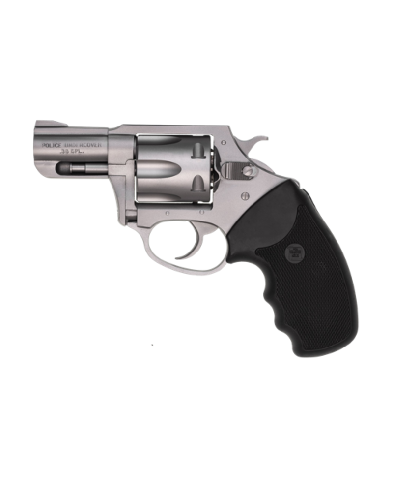 "Charter Arms CHARTER ARMS POLICE UNDERCOVER, #73840, .38SPL, 2"", S/S, FULL SIZE GRIP, 6 SHOT"