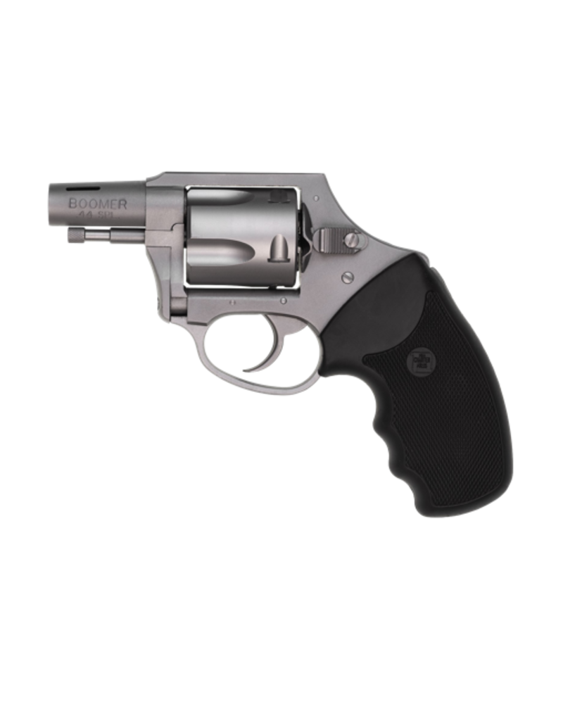"Charter Arms CHARTER ARMS BOOMER, #74429, 44 SPECIAL, DOUBLE ACTION, 2"", 5RD, STAINLESS, BLACK RUBBER GRIP"