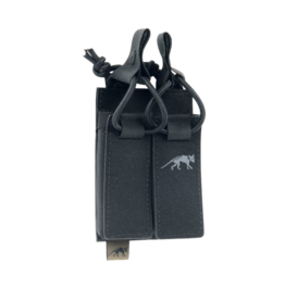 TASMANIAN TIGER TASMANIAN TIGER DOUBLE PISTOL MAG POUCH, BUNGEE, BLACK