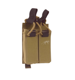 TASMANIAN TIGER TASMANIAN TIGER DOUBLE PISTOL MAG POUCH, BUNGEE, COYOTE