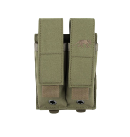 TASMANIAN TIGER TASMANIAN TIGER DOUBLE PISTOL MAG POUCH, VELCRO CLOSE, OLIVE