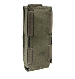 TASMANIAN TIGER TASMANIAN TIGER SINGLE PISTOL MAG POUCH, OPEN TOP,OLIVE