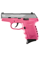 SCCY SCCY INDUSTRIES CPX-2, #CPX-2TTPK, 9MM, DOUBLE ACTION ONLY, STAINLESS, PINK POLY FRAME