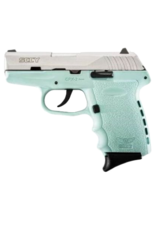 SCCY SCCY INDUSTRIES CPX-2, #CPX-2TTSB, 9MM, DOUBLE ACTION ONLY, STAINLESS, BLUE POLY FRAME