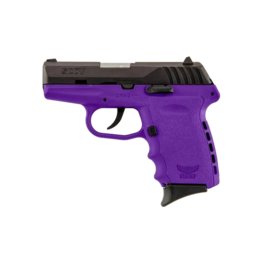 SCCY SCCY INDUSTRIES CPX-2, #CPX-2CBPU, 9MM, DOUBLE ACTION ONLY, PURPLE POLY FRAME