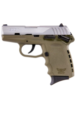 SCCY SCCY INDUSTRIES CPX-1, #CPX-1TTDE, 9MM, DOUBLE SIDE SAFETY, DOUBLE ACTION ONLY, STAINLESS, FDE FRAME
