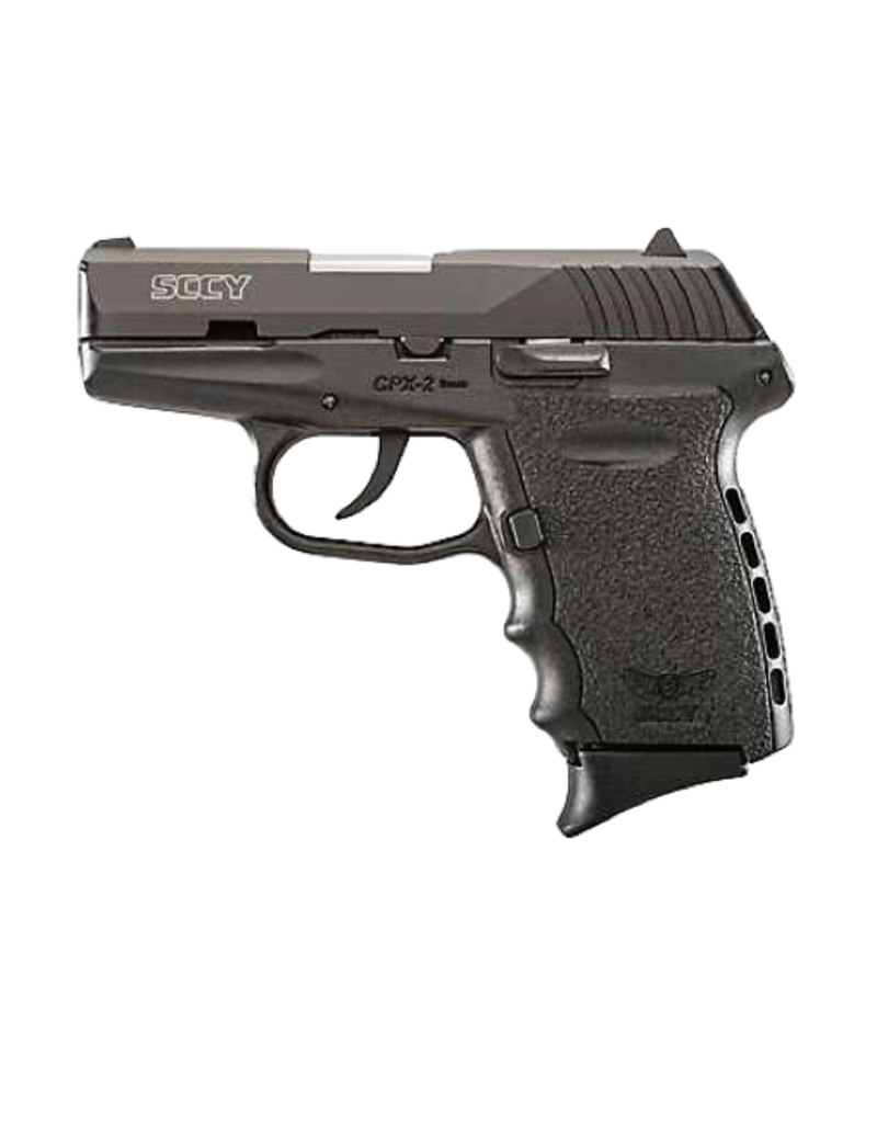 SCCY SCCY INDUSTRIES CPX-2, #CPX-2CB, 9MM, DOUBLE ACTION ONLY