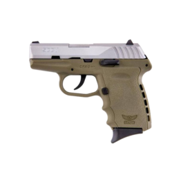 SCCY SCCY INDUSTRIES CPX-2, #CPX-2TTDE, 9MM, DOUBLE ACTION ONLY, STAINLESS, FDE FRAME