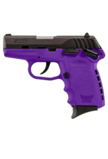 SCCY SCCY INDUSTRIES CPX-1, #CPX-1CBPU, 9MM, DOUBLE SIDE SAFETY, DOUBLE ACTION ONLY, PURPLE POLY FRAME
