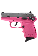 SCCY SCCY INDUSTRIES CPX-1, #CPX-1TTPK, 9MM, DOUBLE SIDE SAFETY, DOUBLE ACTION ONLY, PINK FRAME