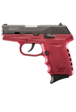 SCCY SCCY INDUSTRIES CPX-2, #CPX-2CBCR, 9MM, DOUBLE ACTION ONLY, RED FRAME
