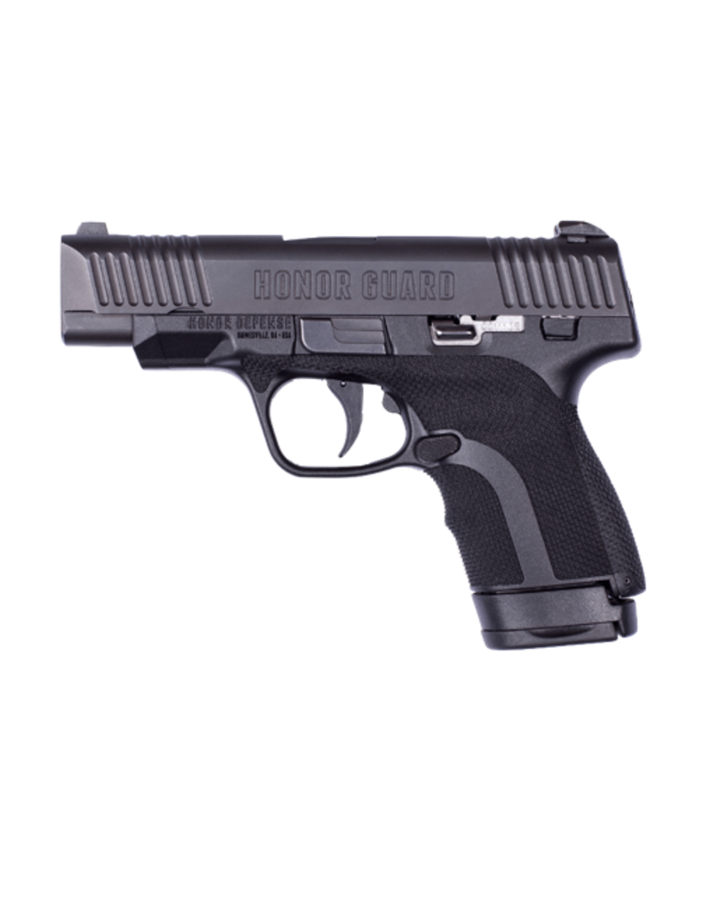 "Honor Defense HONOR DEFENSE HG9C, #HG9CLE, 9MM, 3.8"", COMPACT GRIP, LONG SLIDE, BLACK"
