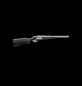 "Stoeger STOEGER COACH GUN, #31415, 12GA, 20"", POLISHED NICKEL, BLACK STOCK"