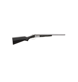 "Stoeger STOEGER COACH GUN, #31420, 20GA, 20"", POLISHED NICKEL, BLACK STOCK"