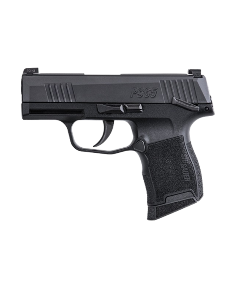 Sig Sauer SIG SAUER P365, #365-9-BXR3-MS, 9MM, X-RAY 3 NIGHT SIGHTS, NITRON, 2 - 10RD MAGS, MANUAL SAFETY