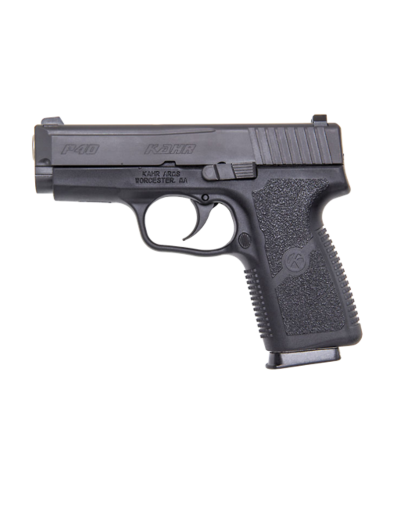 "Kahr Arms KAHR ARMS P40, #KP4044N, 40S&W, 3.5"", BLACK DIAMOND, NIGHT SIGHTS, POLYMER"