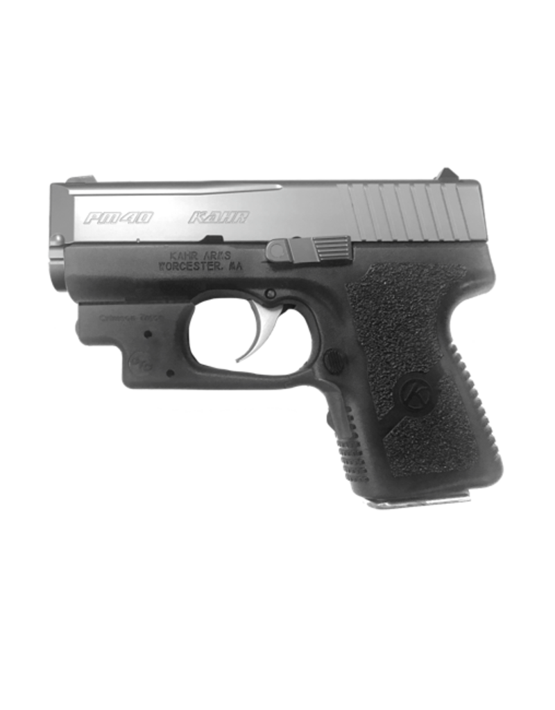 "Kahr Arms KAHR ARMS PM40, #PM4043L, MICRO, 40S&W, 3"", S/S , POLYMER, CTC LASER - DISC"