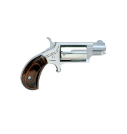 North American Arms NORTH AMERICAN ARMS MINI REVOLVER, #NAA-22MS, 22M, STAINLESS, 1.1""