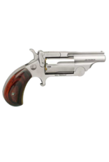 North American Arms NORTH AMERICAN ARMS MINI REVOLVER, #NAA-22MC-BTII, 22LR/22MAG, STAINLESS, TOP BREAK
