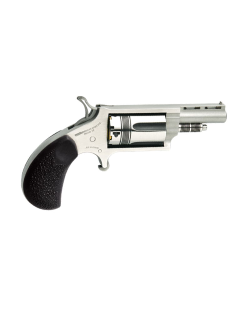 North American Arms NORTH AMERICAN ARMS WASP, #NAA-22MC-TW, 22LR/22MAG COMBO, STAINLESS, 6RDS