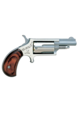 """North American Arms NORTH AMERICAN ARMS MINI REVOLVER, #NAA-22MC, COMBO 22LR/22M, STAINLESS, 1.5"""""""