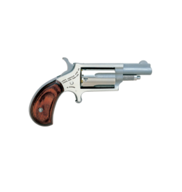 North American Arms NORTH AMERICAN ARMS MINI REVOLVER, #NAA-22MC, COMBO 22LR/22M, STAINLESS, 1.5""