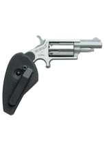 "North American Arms NORTH AMERICAN ARMS MINI REVOLVER, #NAA-22M-HG, 22M, STAINLESS, 1.5"", HOLSTER GRIP"