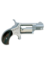 """North American Arms NORTH AMERICAN ARMS MINI REVOLVER, #NAA-22LR, 22LR, STAINLESS, 1.1"""""""