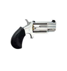 """North American Arms NORTH AMERICAN ARMS PUG, #NAA-PUG-D, 22MAG, STAINLESS, 1.1"""",  WHITE DOT SIGHTS"""
