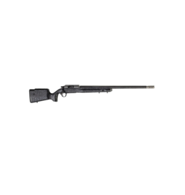 "Christensen Arms CHRISTENSEN ARMS E.L.R. RIFLE, #CA10266-275461, 300 WIN MAG, 26"", BLACK WITH GRAY WEBBING, THREADED BARREL"